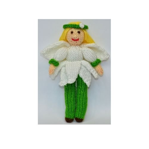 Makerist - Snowdrop Flower Fairy Doll - DK Wool - Knitting Showcase - 1