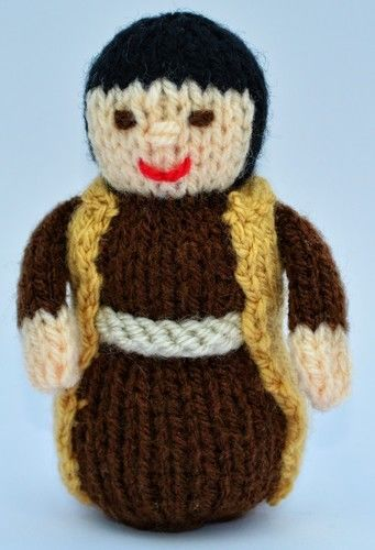 Makerist - Joseph Nativity Doll - DK Wool - Knitting Showcase - 2