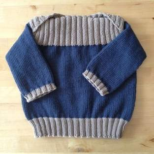 Pullover für kleine Männer
