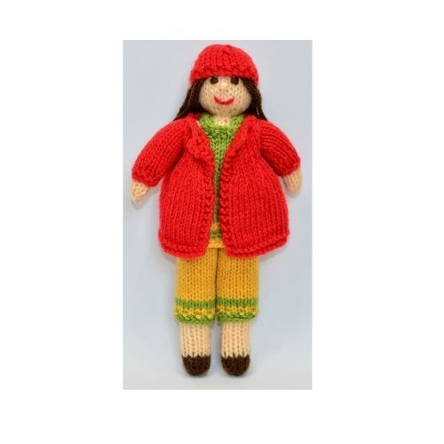 Makerist - Daisy Rag Doll - DK Wool - Knitting Showcase - 1