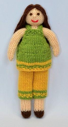 Makerist - Daisy Rag Doll - DK Wool - Knitting Showcase - 2