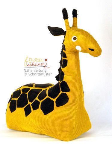 Makerist - Reitier Giraffe Gisela - Nähprojekte - 1