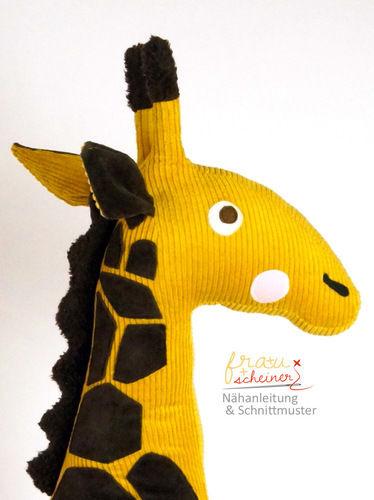 Makerist - Reitier Giraffe Gisela - Nähprojekte - 2