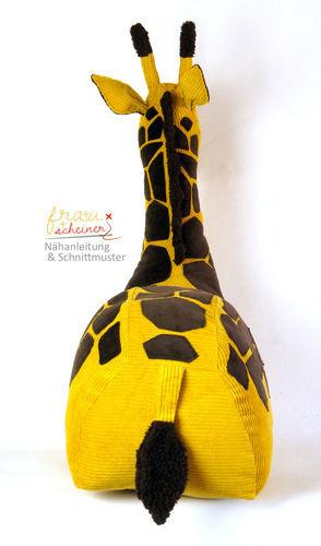 Makerist - Reitier Giraffe Gisela - Nähprojekte - 3