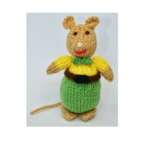 Makerist - Victorian Mouse - DK Wool - Knitting Showcase - 1