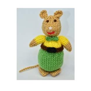 Makerist - Victorian Mouse - DK Wool - 1
