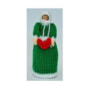 Makerist - Christmas Carol Singer Peg Doll - DK Wool - 1