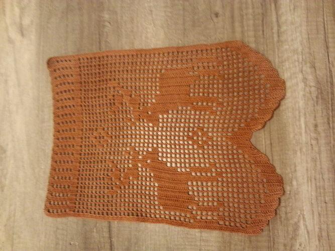 Makerist - Bistrogardine, 100 % Baumwolle  - Häkelprojekte - 1