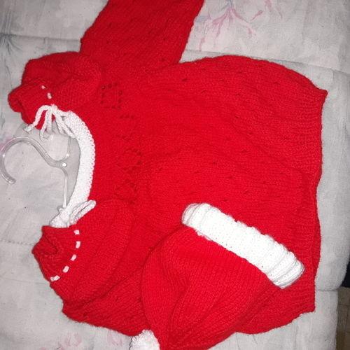 Makerist - layette en laine pour les bébé. - Créations de tricot - 3