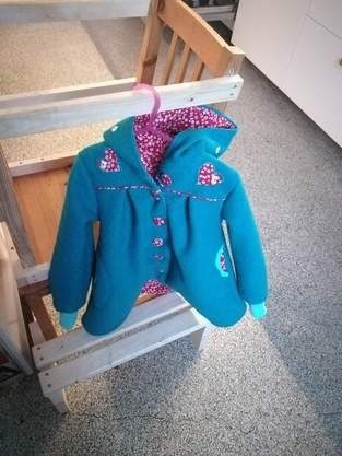 Mantel Gretchen für Frida