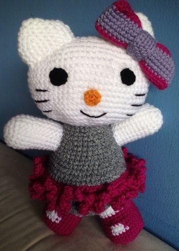Makerist - Häkel-Kitty  - Häkelprojekte - 1