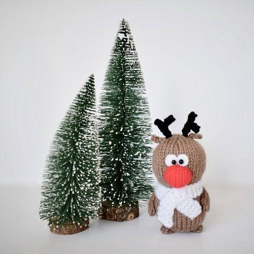 Makerist - Santa Rudolph and Robin - Knitting Showcase - 3