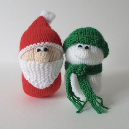 Makerist - Santa and Snowman - Knitting Showcase - 1