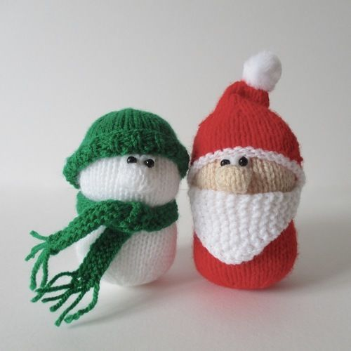 Makerist - Santa and Snowman - Knitting Showcase - 2
