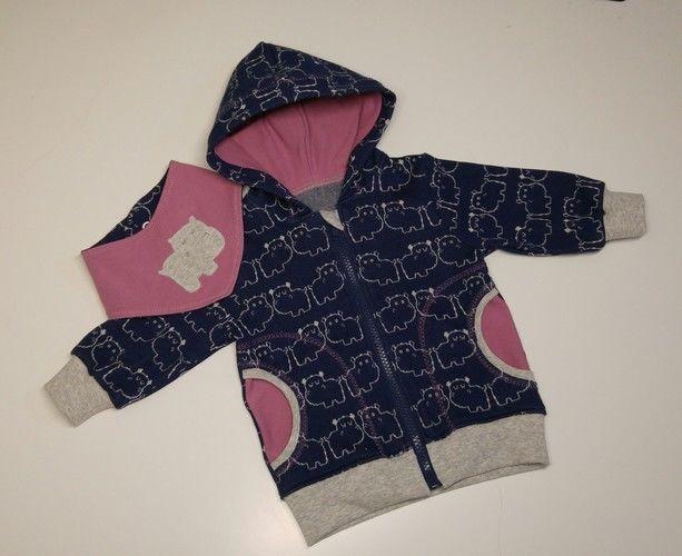 """Makerist - Eine """"Sweat""""Jacke für ein Babymädchen - Nähprojekte - 1"""