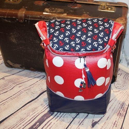 Makerist - Der Rucksack Piro Pack von rosaDIY.de  - Nähprojekte - 1
