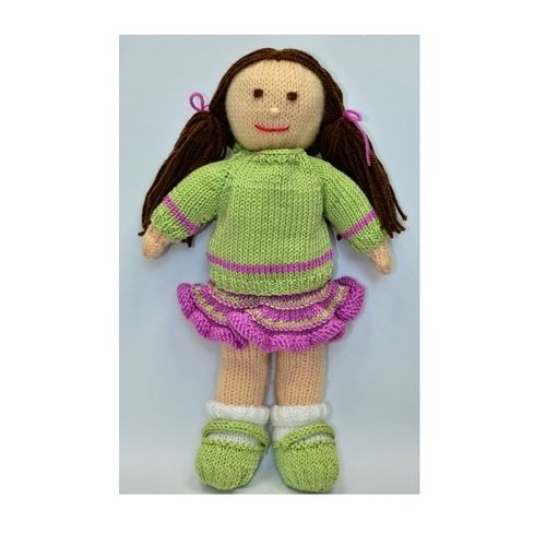 Makerist - Jemima January Rag Doll - DK Wool - Knitting Showcase - 3