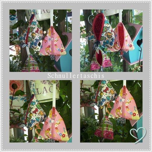 Makerist - ...für den Schnulli ein Täschi ... Schnulltertaschen von Trendies - Nähprojekte - 1