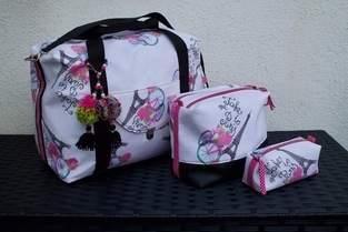 Reise-Taschenset NewJersey3 von Lilamint Design