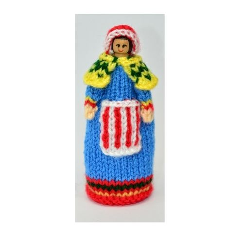 Makerist - Lapland Costume Peg Doll - DK Wool - Knitting Showcase - 1