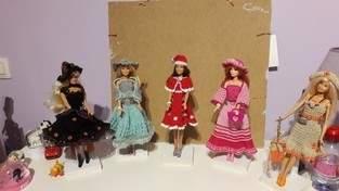 Tenues pour Barbie