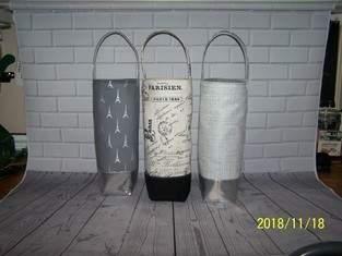Makerist - Yo Tipsy Tote Wine Totes - 1