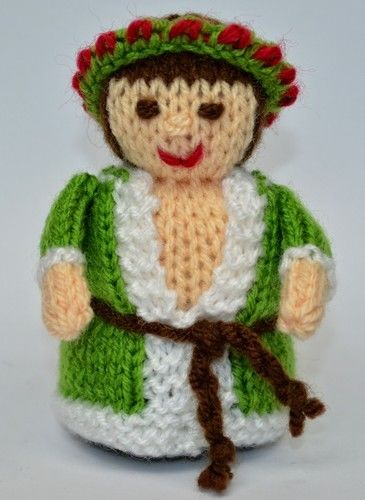 Makerist - Scrooge - Spirit of Christmas Present - DK Wool - Knitting Showcase - 3