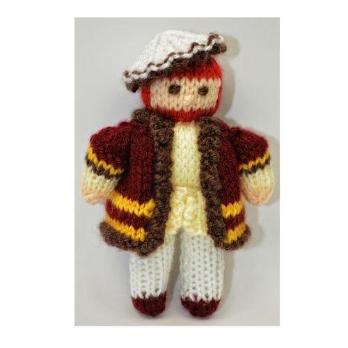 Makerist - King Henry VIII Doll - DK Wool - Knitting Showcase - 3