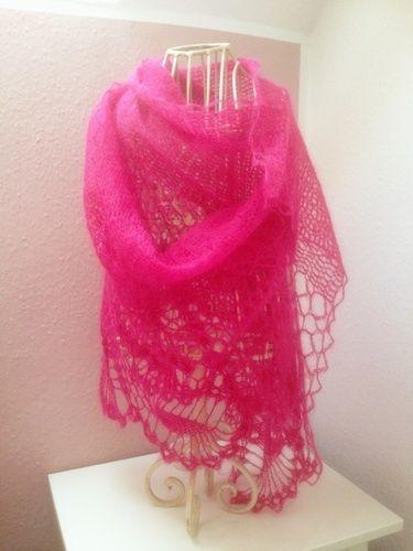 Makerist - Pink Pineapple Scarf - Häkelprojekte - 1