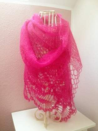 Pink Pineapple Scarf