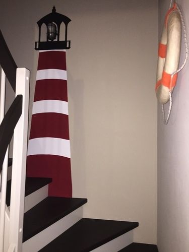Makerist - Leuchtturm im Flur  - DIY-Projekte - 1