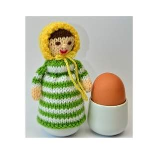 Makerist - Elinor Dashwood Doll Egg Cosy - DK Wool - 1