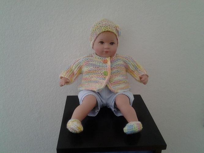 Makerist - Puppenkleidung - Strickprojekte - 1