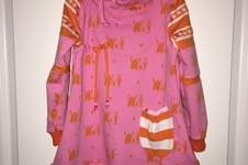 Makerist - Reste-Monster Kleid und -Affenbanden Pulli - 1
