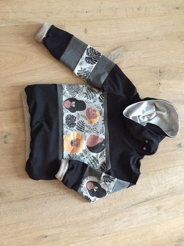 Makerist - Reste-Monster Kleid und -Affenbanden Pulli - Nähprojekte - 2