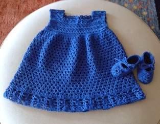 Makerist - Babykleidchen mit passenden Schuhen - 1
