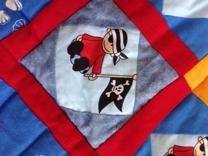 Makerist - Krabbeldecke für kleine Piraten. - Nähprojekte - 3