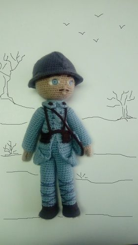Makerist - Hippolyte le poilu - Créations de crochet - 1