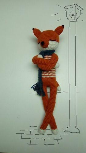 Makerist - Ragnar le Renard - Créations de crochet - 1