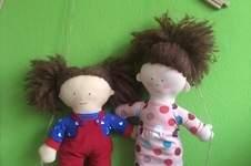 Makerist - Puppen für meine Tochter und ihre Freundin - 1
