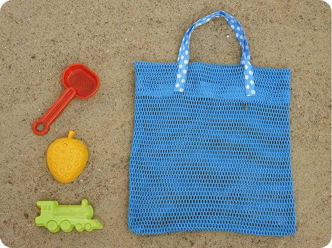 Makerist - RieselTäschi für Sandkasten Spielzeug - Nähprojekte - 1