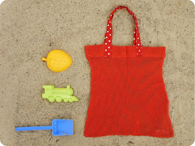 Makerist - RieselTäschi für Sandkasten Spielzeug - Nähprojekte - 2