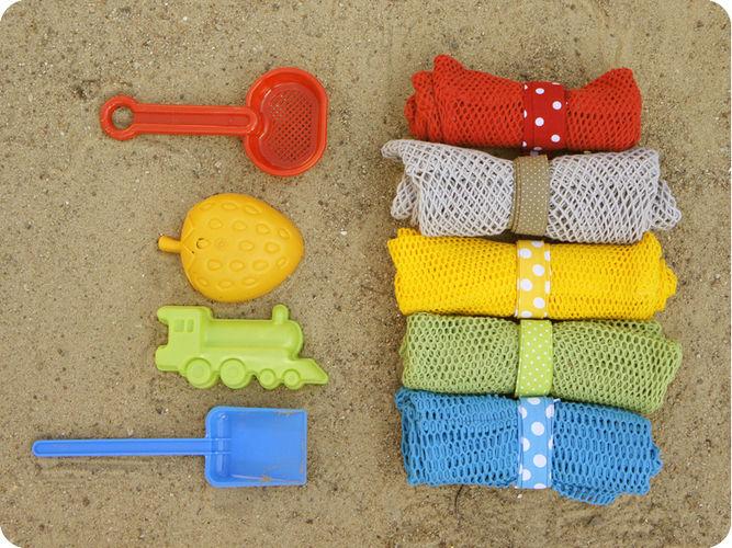 Makerist - RieselTäschi für Sandkasten Spielzeug - Nähprojekte - 3
