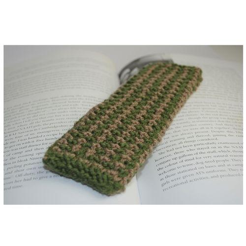Makerist - Tweed Bookmark - DK Wool - Knitting Showcase - 1