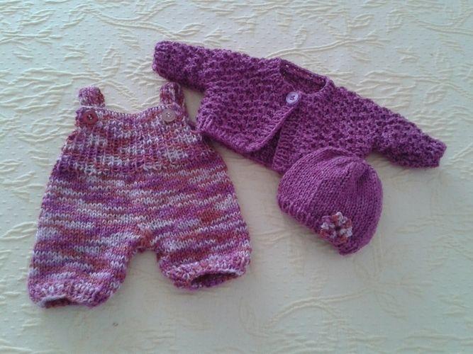 Makerist - 3-teilige Puppenkleidung - Strickprojekte - 1