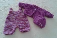 Makerist - 3-teilige Puppenkleidung - 1