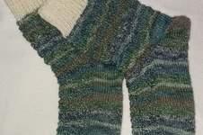 Makerist - Socken im LinksRechtsZackenmuster, für meine kleine Tochter - 1