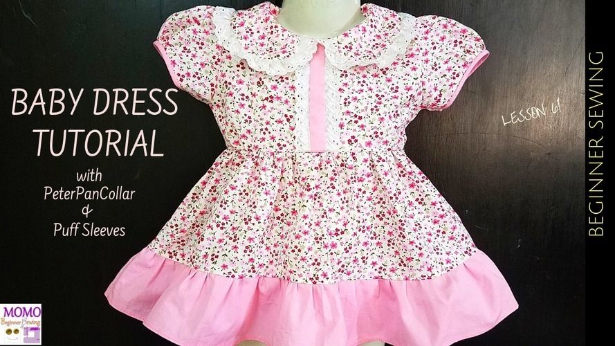 Makerist - Baby Dress Sewing Tutorial - Sewing Showcase - 1