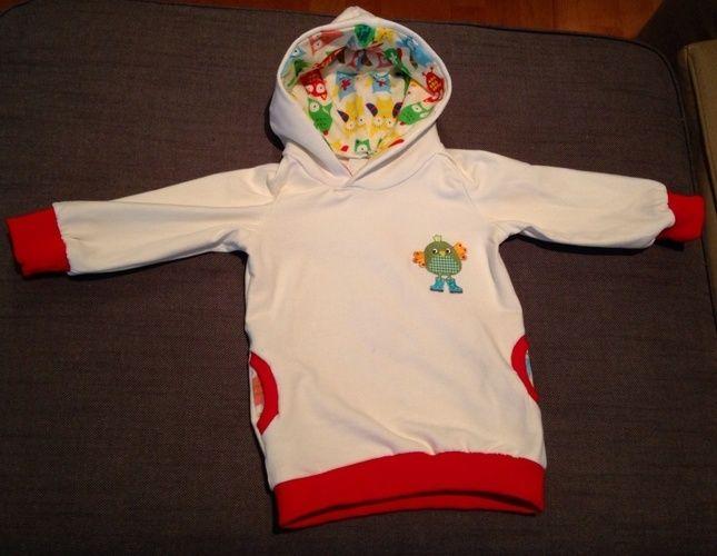 Makerist - Ein Kapuzenpullover aus Sweatshirtstoff für meine kleine Maus - Nähprojekte - 1