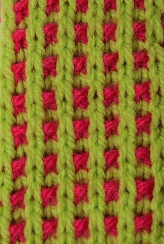 Makerist - Basket Rib Bookmark - DK Wool - Knitting Showcase - 2